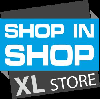 Shop in Shop XL Store Logo